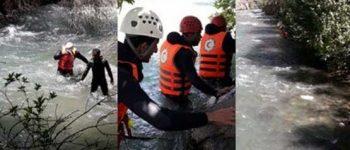 عکس + غرق دختر 9 ساله در رودخانه کرج